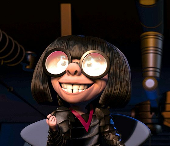 Despicable Me Lady With Glasses